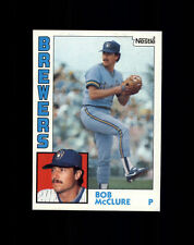 1984 Nestle #582 Bob McClure - Milwaukee Brewers NM/MT (A02A)