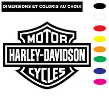 Sticker HARLEY DAVIDSON CYCLES Autocollant Adhesif Véhicule Moto Biker Deco