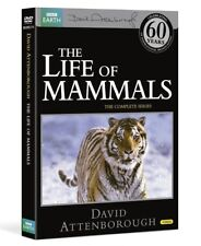 LIFE OF MAMMALS (2002): COMPLETE David Attenborough BBC TV Series  NEW DVD UK