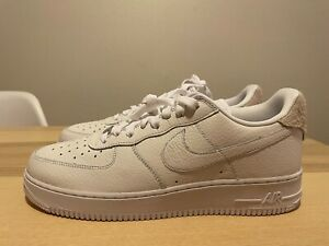 NEW Nike Air Force 1 '07 CRAFT White/Summit White-Vast Grey Size 11 (CN2873-101)