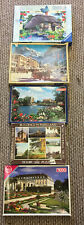 5 Used Jigsaw Puzzles Cuntryside Theme Ideal Car Boot Lot