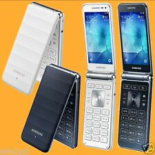 Samsung Galaxy Folder LTE SM-G150N 8MP AF FM Unlocked 4G Android Flip Smartphone