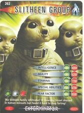 Doctor Who Battles In Time Exterminator #202 Slitheen Group