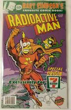 Bart Simpson's Radioactive Man #711 New in Bag 7-11 Exclusive