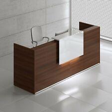"Tera 97"" Reception Desk with Lighting Panel"