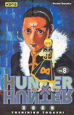 HUNTER X HUNTER tome 8 Togashi MANGA shonen
