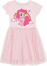My Little Pony Girls' Little Tulle Costume Dress