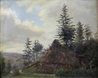 Barbizon School Landscape Entourage of Théodore Rousseau Jean-Baptiste Corot