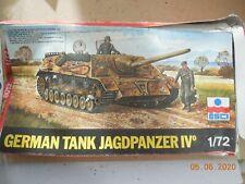 ESCI GERMAN TANKJAGDPANZER IV 1/72 SCALE