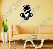 "Boxing Gloves Glove Head Gear Sport Wall Sticker Room Interior Decor 20""X25"""