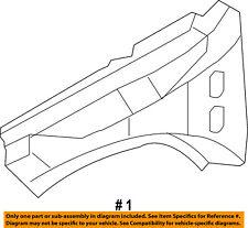 Jeep CHRYSLER OEM Compass Fender-Upper Rail Apron Panel Cover Left 68002037AD