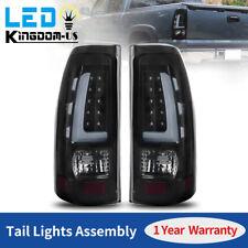 2PCS for 99-06 Chevy Silverado 99-02 GMC Sierra 1500 2500 3500 LED Tail Lights