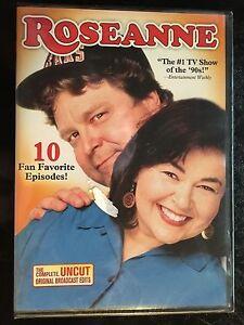 Roseanne: 10 Fan Favorite Episodes (DVD, 2011) Brand New Sealed