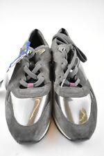 Geox Damen Sneaker D SHAHIRA A Grau Glanz Leder in Gr.37