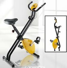 2.5kg Flywheel Folding Exercise Bike with Hand Electric Monitor Hand Pulse