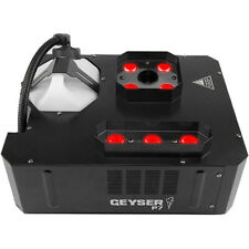 Chauvet DJ Geyser P7 Compact Fog Machine with RGBA+UV LEDs & Wireless Remote New