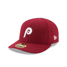 Philadelphia Phillies MLB New Era Low Crown 1982 Retro 59FIFTY Fitted Hat-Maroon