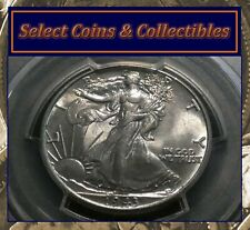1943 Walking Liberty Half Dollar 50C PCGS AU58 Beautiful Toned Coin! No-617
