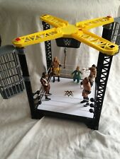 WWE Tough Talkers Championship Takedown Ring With 5 Wrestling Action figures