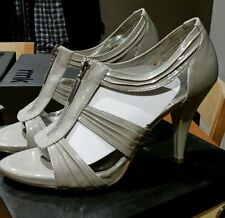 RMK High (3 in. to 4.5 in.) Open Toe Slim Heels for Women