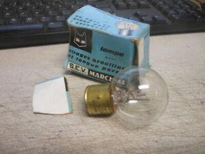 Vintage NOS Norma Marchal 3 Pin Lamp Light Bulb 12V 75W 620 63 640 650 660 1292B
