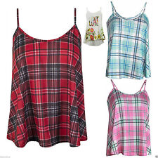 Unbranded Checked Semi Fitted Tops & Shirts for Women