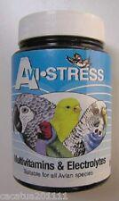 Avi-Multivitaminas estrés/electrolitos para ayudar a estresado con jaula pájaros 100G