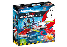 Playmobil 9387 Real Ghostbusters Winston Zeddemore with Aqua Scooter MIB/New