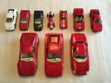 Lot of BURANGO Ferrari and other Ferrari models, Brumm, Corgi, Box, MC Toy