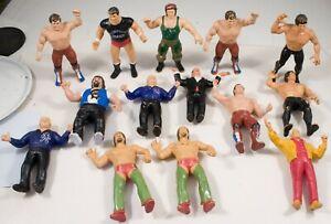 14 Vintage 1986 LJN Titan Sports WWF/WWE Wrestling Figures RICKY THE DRAGON GENE