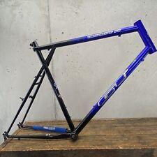 """GT Timberline FS 22"""" Large 26"""" Frame Mountain Bike Vintage Blue Flame Cromo"""