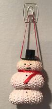 SnowmanGlitter Sea Shell Christmas Ornament Holiday Decoration