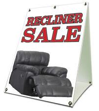 Recliner Sale Sidewalk A Frame 18x24 Outdoor Vinyl Retail Sign Furniture