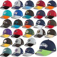 New Era Cap 39thirty Cap NFL Sideline 18/19 Seahawks Patriots Raiders 49ers UVM