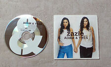 "CD AUDIO MUSIQUE  FR / ZAZIE ""ADAM & YVES"" 3T CD SINGLE 2002 MERCURY 582871-2"