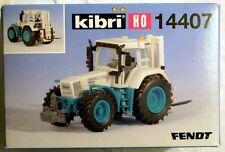 Kibri 14407: Fendt 926 mit Heckstapler, Bausatz in H0, N E U & O V P