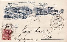 #VALLE MOSSO: LANIFICIO EFISIO FIORINA & C.- 1902