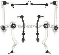 Front Control Arm Arms Ball Joint Joints Tie Rod Rods BMW E39 SUSPENSION Kit 8