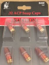 Traditions Snap Caps Plastic .32 ACP Pack of 6  # ASA32  New !