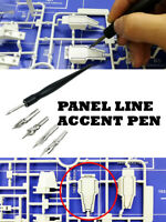 Panel Line Accent Pen Assembly Model Tools Avoid Scrubbing Infiltration Line
