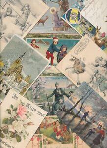 100 AK Feiertage Weihnachten Ostern Neujahr vor 1945