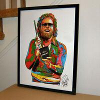 Gene Frenkle Will Ferrell More Cowbell Rock Music Poster Print Wall Art 18x24
