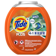 Tide PODS 4 in 1 HE Turbo Laundry Detergent Pacs, Botanical Rain Scent, 61 Count