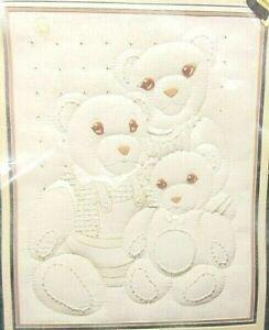 VTG Prism Designs,Horizons 'Family Portrait' Padded Teddy Bears Sampler 11x14