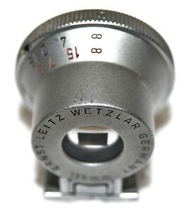 Leitz Wetzlar Leica SHOOC 135mm Bright Line Finder for Rangefinders