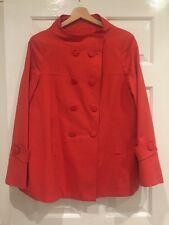 Marks & Spencer Limited Collection Women Red Trench Coat size 16