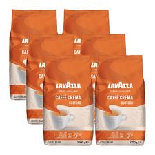 Lavazza Caffè Crema gustoso, 1000g ganze Bohne 6er Pack