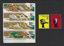 China PRC 1985 J120 J121 Palace Museum & Sport Set x 2 MNH