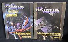 Babylon Project (Babylon 5 Rpg) Rulebook & Earthforce Sourcebook