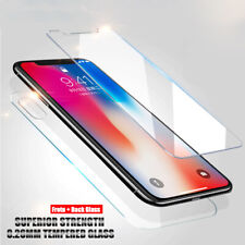 For iPhone 12 11 X Premium Screen Protector Tempered Glass Protective Film Guard